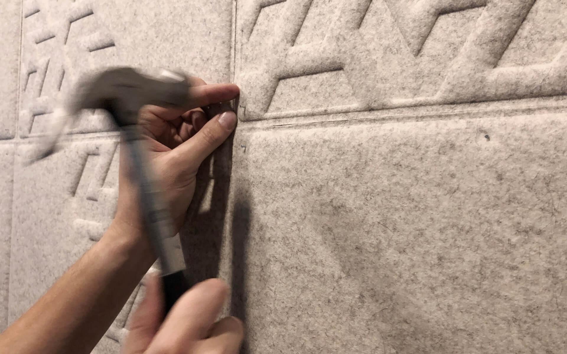 Katrin Kabun Akustilised seinapaneelid OÜ Veriff kõne-ja koosoleku kabiinidesse