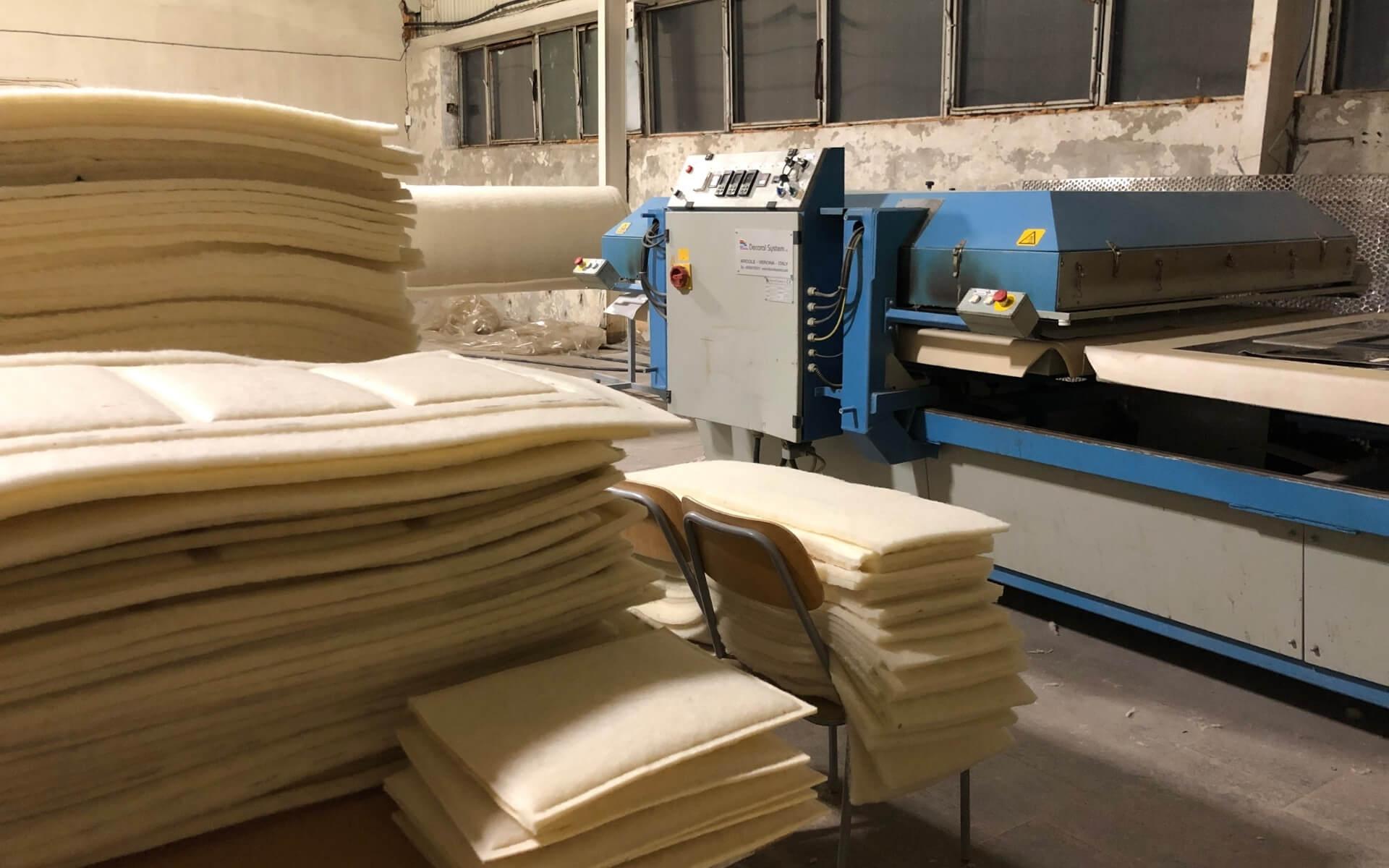 Katrin Kabun Villaümbrik - Woola tootmine Paldiski tehases